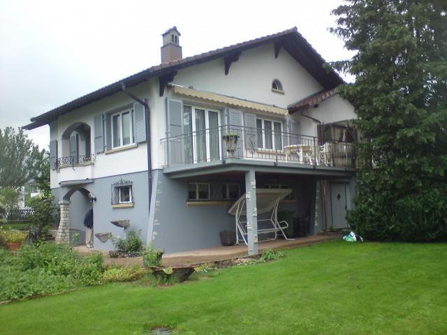 Maison 4,5 p avec un grand jardin et vue sur le lac 14956851