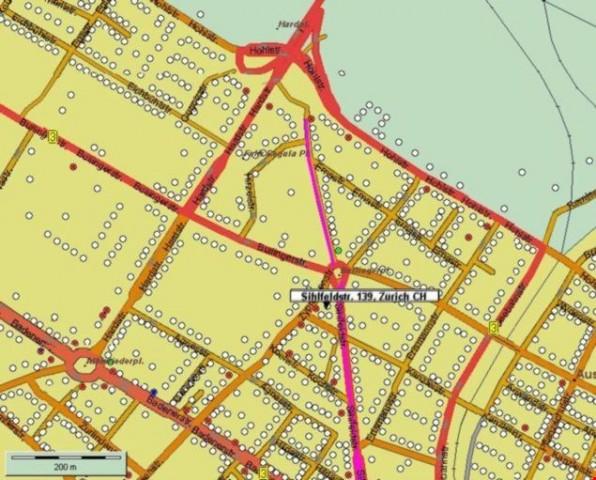 Aussen-Parkplatz Nr 1 im Kreis 4 nähe Hardplatz und Albisrie 15347019