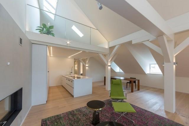 Einmalige Dachgeschosswohnung mit Galerie und Sauna in Altba 13763438