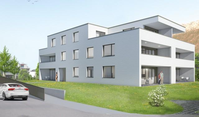 Schön Wohnen in Sevelen - Attraktive 3.5-Zimmer-Wohnung – Er 15267852