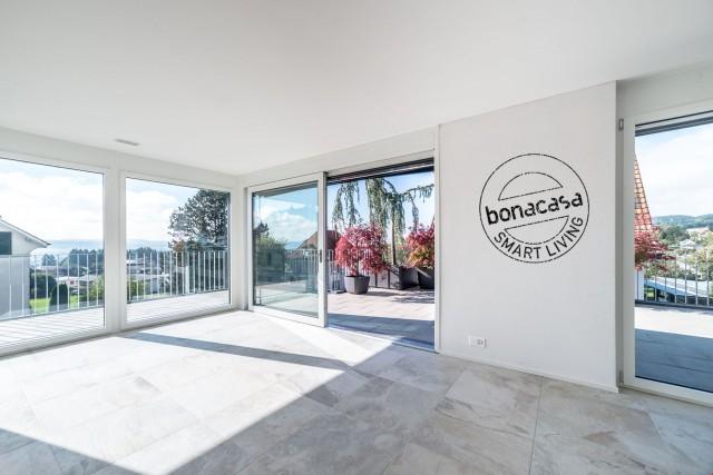 Wundervolle Aussichten: 4½-Zimmer-Attikawohnung mit bonacasa 16899332