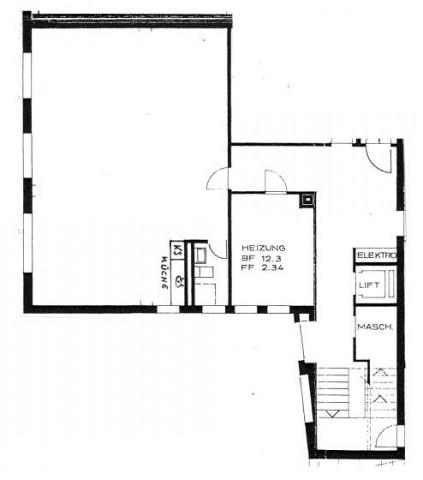 sehr helle grosse 1-Zimmer-Wohnung 16707198