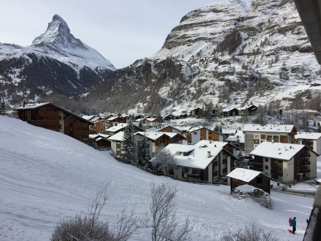 Spektakuläre Ausicht aufs Matterhorn sonnige 1.5 Zimmer Whg. 14971705