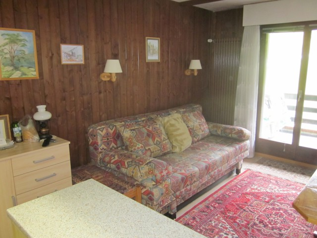 Torgon : Charmant Studio avec place de parc intérieur 16709127