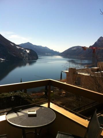 Castagnola,Lugano .Vista lago e piscina 14914807
