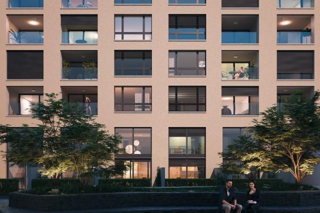 Attika-Wohnung mit grosser Terrasse und Pergola 14971860