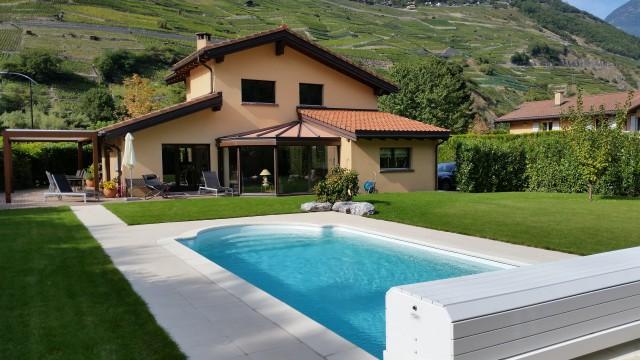 Villa avec piscine à vendre quartier de la Fusion à Martigny 12586095
