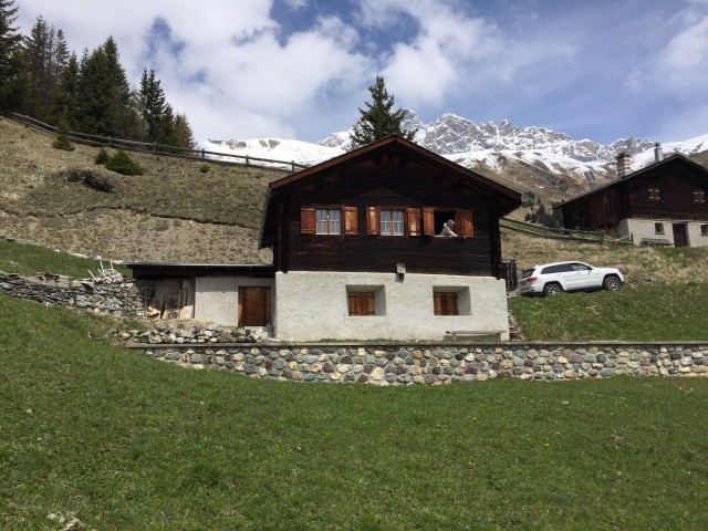 Maiensäss in Graubünden (Castelas) 15313844