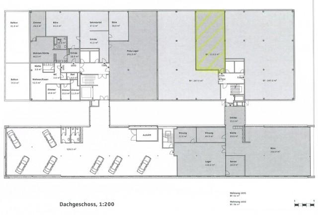 Grosser und heller Gewerberaum mit hohen Decken 16687374
