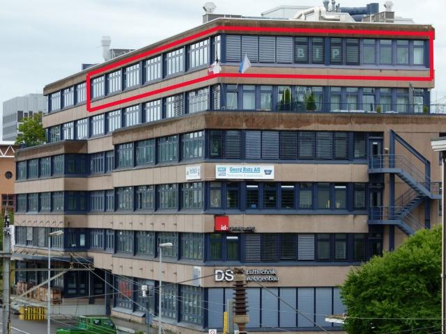 730 m2 Büro-, Schulungs- Atelier- oder Gwerberäume