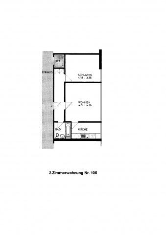 Gemütliches 2-Zimmer Studio