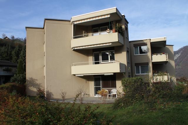 Neu renovierte 3 1/2 Zimmerwohnung mit Blick ins Grüne 12965284