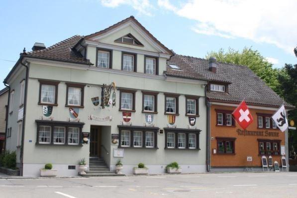 Restaurant mit Rotisserie an Toplage im Zentrum von Appenzel