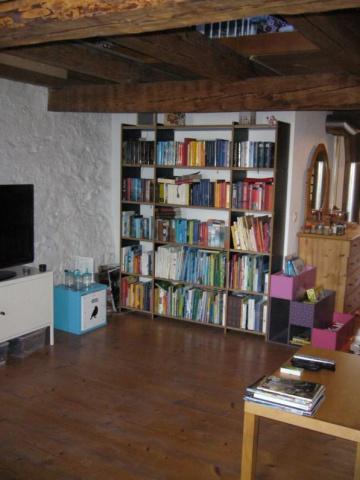 Wohnung im Dachgeschoss für Liebhaber von Altstadthäusern