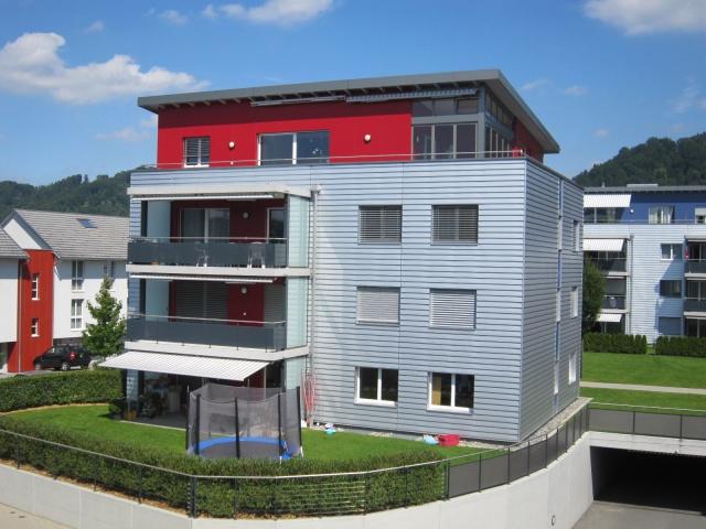3.5-Zimmer-Attikawohnung in 4-Familienhaus 12365604