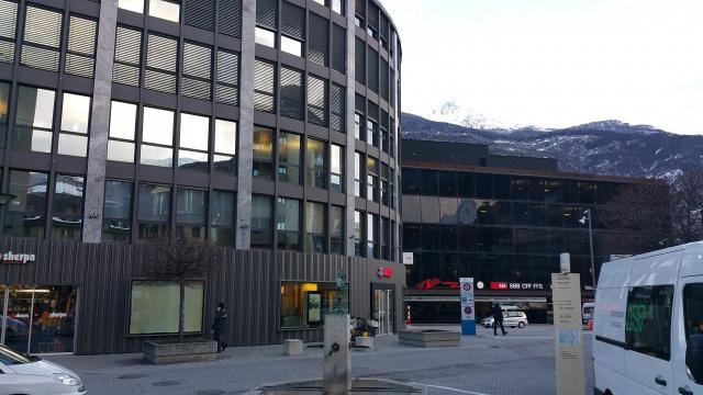 Büroräumlichkeiten beim Bahnhof Visp 10664112