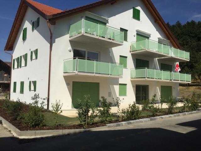Henniez,31/2 pièces, terrasse-jardin 12030244