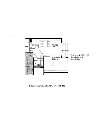 Sonnige 2-Zimmerwohnung 12017024