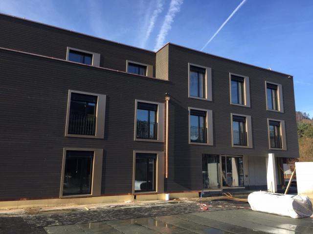 Wohnen im Fuchsloch:neue, grosse 4,5-Zimmerwohnung mit Garte