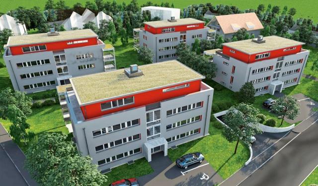 top-moderne 2.5-Zimmerwohnung mit Gartensitzplatz