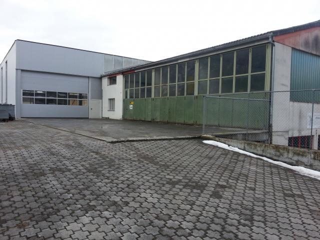 Gewerbehalle mit 5t Kranbahn, Werkstatt, Lager- und Einstell