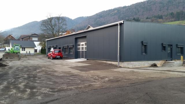 Atelier industriel de 356 m2, facile d'accès, places de parc 11616466