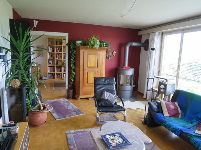 Grosse 4.5 Zimmer mit Aussicht, Garten und Garage 11418348