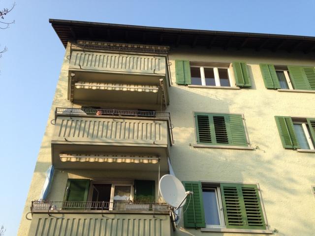 frisch renovierte 4.5 Zimmer Wohnung mit Weitsicht und zwei