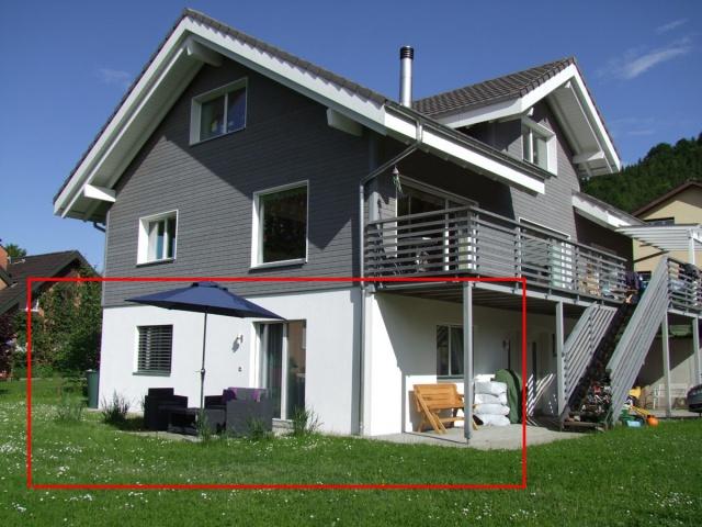 moderne Einlegerwohnung mit Gartensitzplatz 7451375
