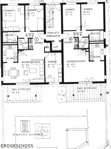4.5-Zimmer-Gartenwohnung 11401193