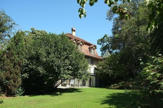 Wohnen im Park - mit Blick über die Stadt Bern und die Alpen 12493307