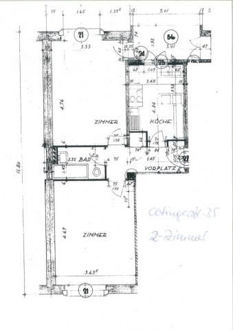 2-Zimmerwohnung nähe Bachgraben