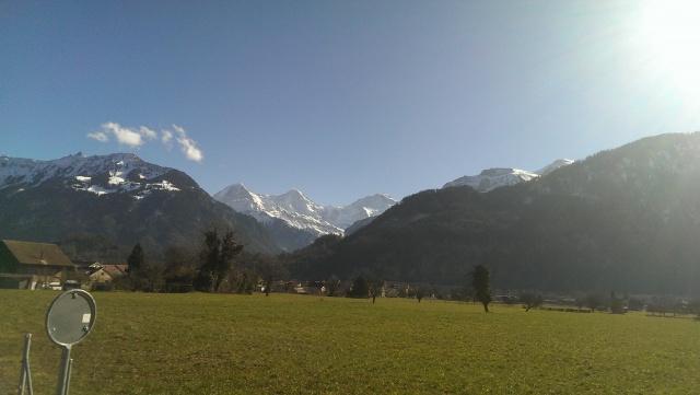 moderne Traumwohnung mit Blick auf Eiger, Mönch und Jungfrau