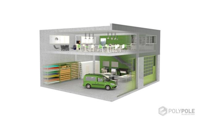 Surfaces polyvalentes pour Artisans / PME Ouest Lausanne 10621038