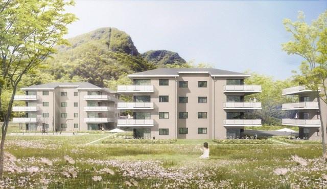 Vionnaz - Appartement 3 pièces 1/2 à louer - Lot C05 10894725