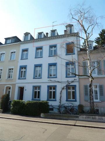 Attraktive 3.5-Altbau-Dachwohnung
