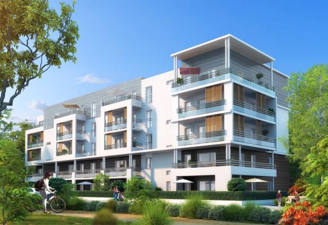 Appartement neuf comptemporain à St Genis Pouilly 12437234