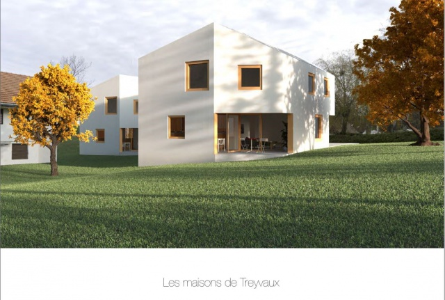 Villas d'architechte de haut standing à 10 min de Fribourg 11668719