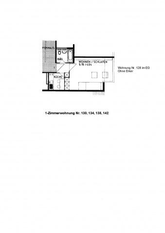 Gemütliches Studio 11389969