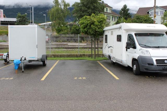 Abstellplätze für Camper und Wohnwagen auf dem Delta-Areal 8111282