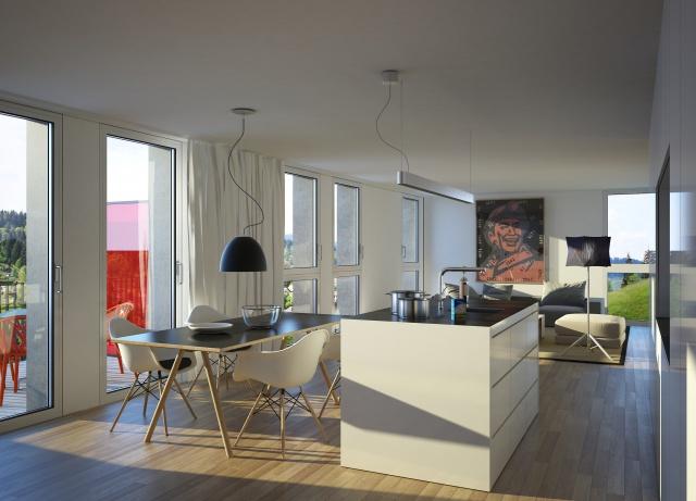 Appartements d'exception: lumineux, calmes et contemporains 8090835