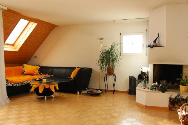 Helle und geräumige Dach-Maisonette-Wohnung