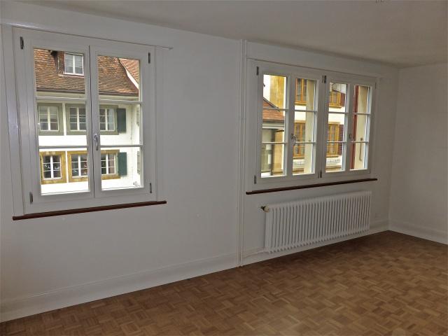 renovierte 2-und 3-Zimmerwohnungen in Altstadt Murten zu ver