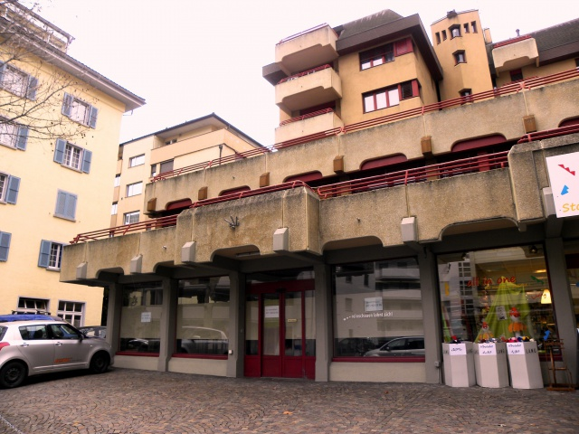 Ladenfläche 244 m2 in Zentrum Brig zu vermieten