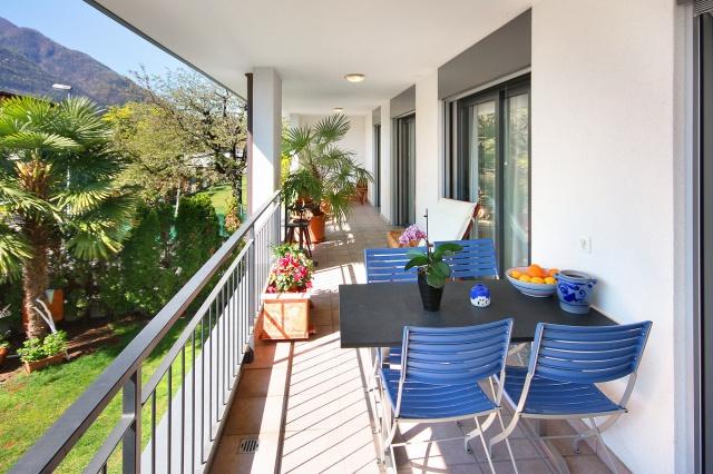 Grosszügige 4-Zimmer-Wohnung in Tegna, nah zum Fluss 11908584