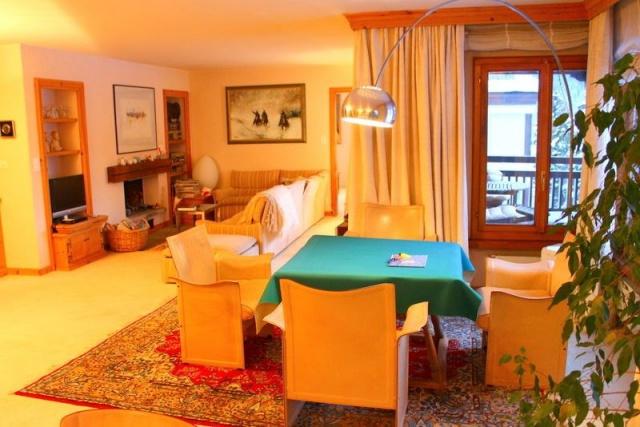 Elegante 5 Zimmer Wohnung im Zentrum von St. Moritz