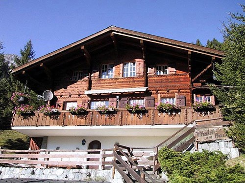 Chalet im Freiburger Stil mit Sonnenterrasse und Autounterst 10684216