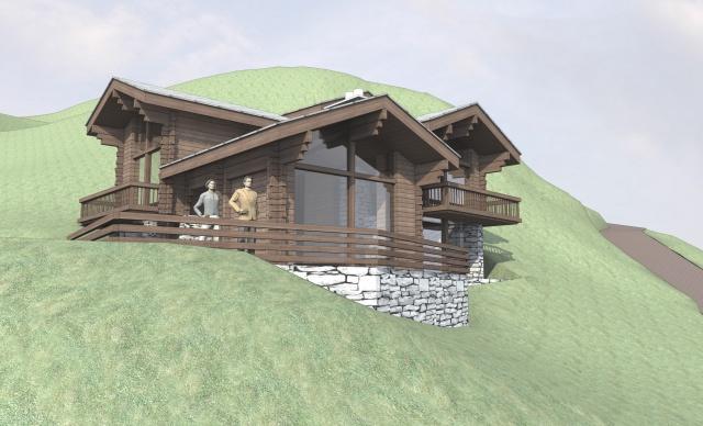 Einmalige Gelegenheit Bauland mit Projekt in Zermatt - Zum S 10589744