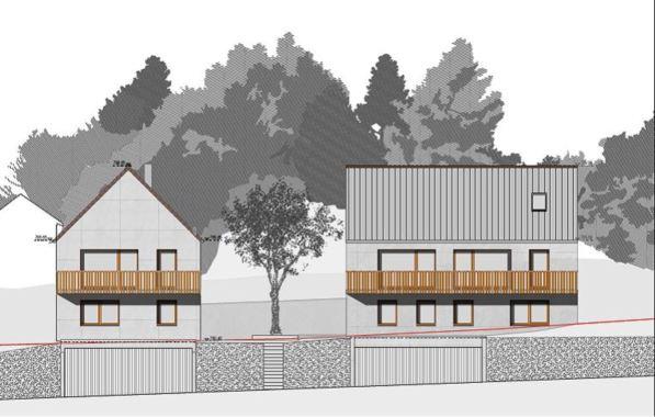 Villa de 6.5 pièces avec balcon, jardin et garage 5391910
