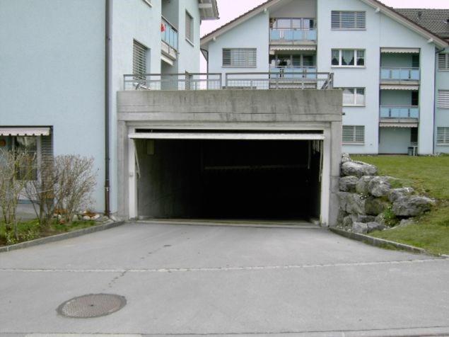 EINGANGS APPENZELL - St.Antonstrasse - Einstellplatz in Tief